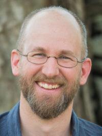 Brian Lesage, AIMC supporting teacher, teaching meditation in Albuquerque